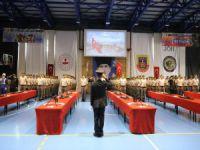 Bursa'da bedelli 100 asker terhis oldu