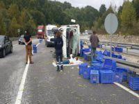 Bursa'da kaza! 2 yaralı...