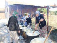 Bursa'da kazanlar kardeşlik için kaynadı
