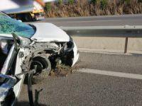 Bursa'da trafik kazası: 1 ölü 1 yaralı
