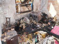 Bursa'da yangın evi kül etti!