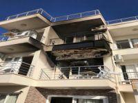 Didim'de müşteri oteli yaktı