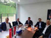 Beşiktaş'ta 2 aday bir araya geldi