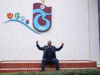 Trabzonspor'a eski oyuncusundan ziyaret