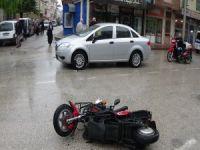 Bursa'da motosiklet kazası!