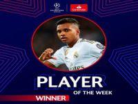 Şampiyonlar Ligi'nde haftanın futbolcusu: Rodrygo