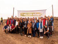 Bursagaz'dan 500 fidanla destek
