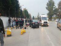 Bursa'da kaza! Kafa kafaya çarpıştılar...