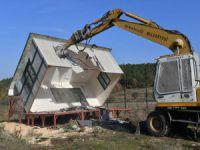 Bursa'da yıkımlara devam ediliyor