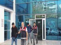 Cami hırsızları tutuklandı