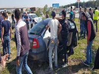 Bursa'da konvoy kazası!
