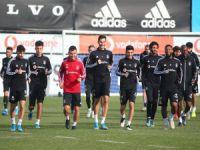 Beşiktaş maç hazırlıkarına devam etti