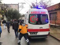 Bursa'da yayaya çarptı!
