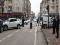 Bursa'da kazadan kaçamadı