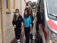 Bursa'daki okulda panik