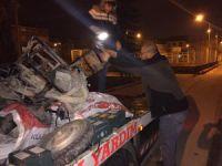 Bursa'da polis baskını