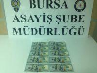 Bursa'da sahte polis vurgunu