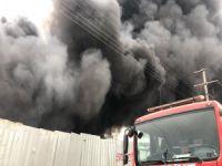 Son dakika: Bursa'da fabrika yangını!