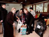 Nilüfer'den depremzedelere yardım