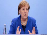 Merkel'den taziye mesajı