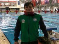 Bursalı yüzücü Millî Takım'da