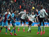 Beşiktaş: 2 - Trabzonspor: 2