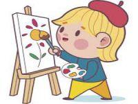 Çocuklar hayallerini renklerle buluşturuyor