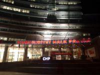 CHP'de olağanüstü toplantı