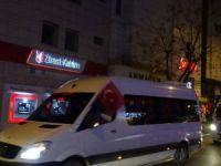 Bursa'da şehitler için konvoy