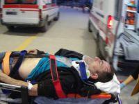 Bursa'da feci kaza: Ağır yaralandı