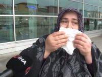 Bilet bulamayınca gözyaşlarına boğuldu