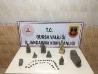 Bursa'da jandarma suçüstü yaptı