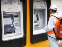 Banka ve bankamatikler dezenfekte edildi