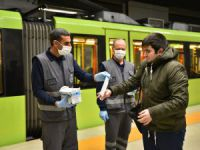 Bursa'da maske uygulaması başladı