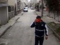Bursa'da duygulandıran görüntü