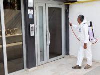 Mudanya'da dezenfektan seferberliği