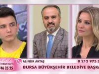 Alinur Aktaş Esra Erol'a bağlandı