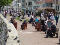 Bursa sahilleri doldu