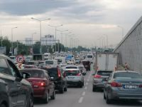 Bursa'da trafik kilit!