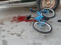 Bisikleti sonu oldu!