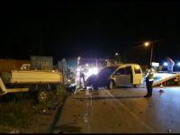 Bursa'da kaza:2 yaralı