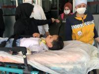 4 yaşındaki çocuğa minibüs çarptı
