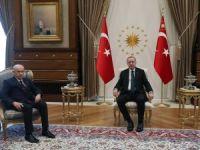 Erdoğan Bahçeli'yi kabul etti