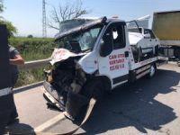 Bursa-İzmir yolunda feci kaza!
