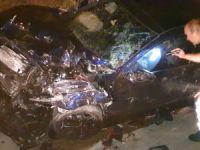 Bursa'da feci kaza: 4 yaralı!