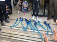 İyi Parti'den su sayaçlı protesto: