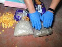 Cips paketinden uyuşturucu çıktı!