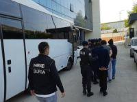 Bursa'da şafak operasyonu!