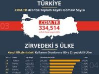 Türkiye, alan adı sayısında dünyada lider!