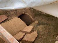 İznik'te mezarlar bulundu